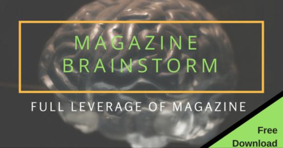 magazine brainstorm