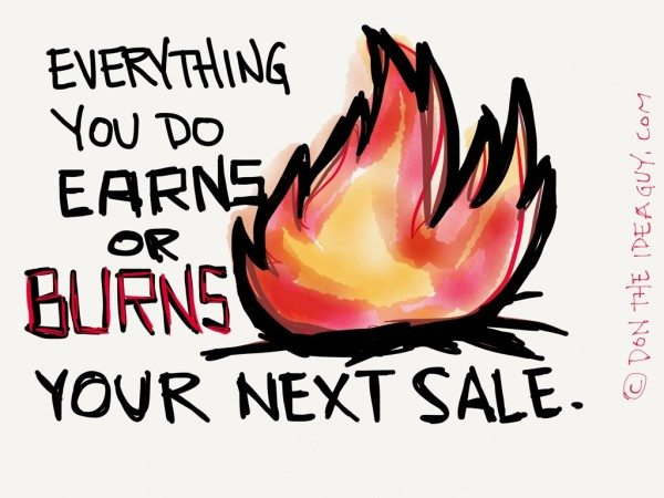 Are You Earning or Burning?