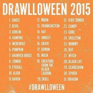 drawlloween-list
