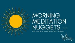 Whitney Bishop Morning Meditation Nuggets