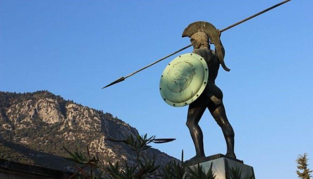 warrior battle stance