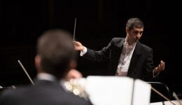 conducting symphony